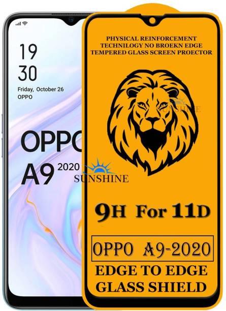 SUNSHINE Edge To Edge Tempered Glass for Realme Narzo 20, Realme Narzo 20A, Realme C11, Realme C12, Realme C15, Realme C3, Realme 5, Realme 5i, Realme 5s, Oppo A9 2020, Oppo A5 2020, Realme Narzo 10, Realme Narzo 10A, Oppo A31