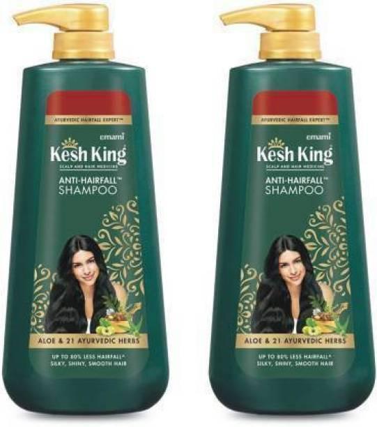 Kesh King Emami Anti Hair fall Shampoo for Men & Women (1200 ml)