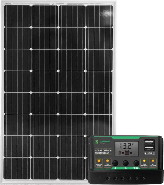 ZunSolar Combo of PWM 20A Solar Charge Controller (ZS20) and 180 Watt 12 Volt Mono PERC Solar Panel
