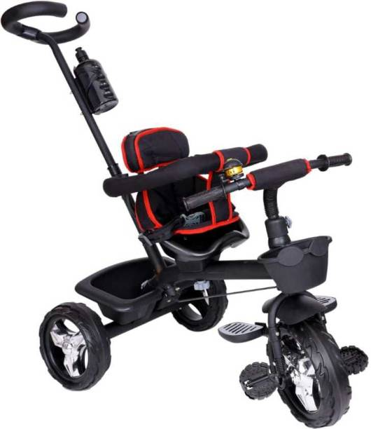 Baby Smile Small Kids Cycle Toys / Baby Tricycle / Kids Trike 4006-Black Tricycle