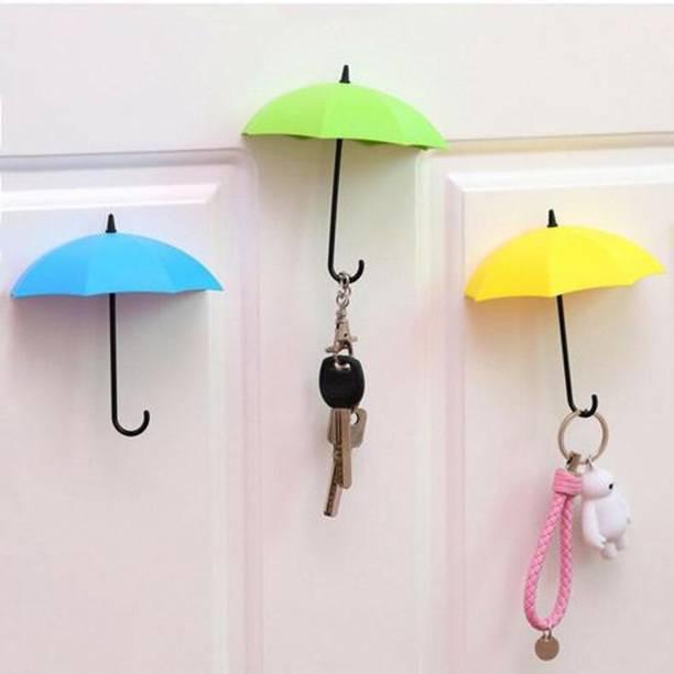 ten choice Umbrella Shape Key Holder Plastic Key Holder Umbrella