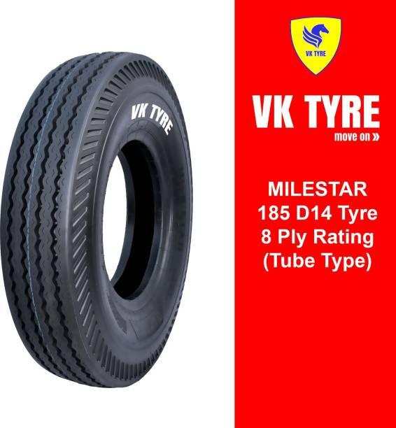 VK TYRE MILESTAR RIB 185 D14 4 Wheeler Tyre