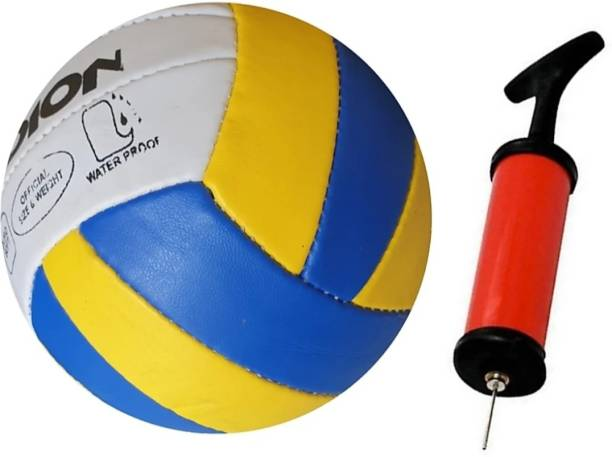 clark Classic volleyball with infling pump Volleyball - Size: 4