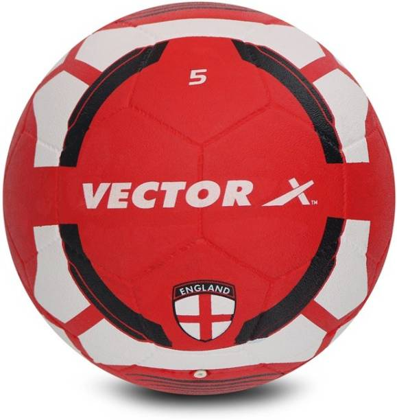 VECTOR X England Rubber moulded Football - Size: 5