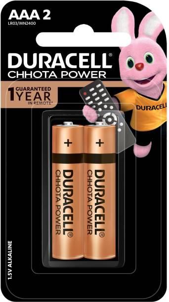 DURACELL CHHOTA POWER ALKALINE AAA BATTERIES- 2 Pcs  Battery