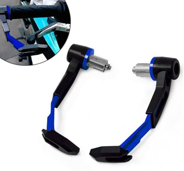 DESIKARTZ BLUE/Black CNC Brake Clutch Lever Protector Hand Guard Bike Crash Guard
