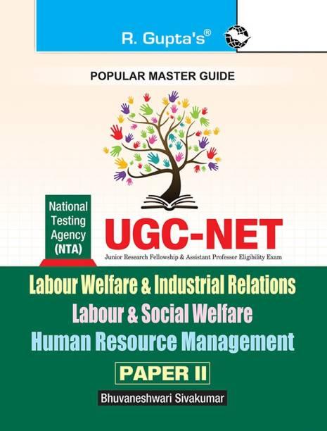Ugc-Net/Set - Labour Welfare & Industrial Relations / Labour & Social Welfare / Human Resource Management (Paper II) Exam Guide