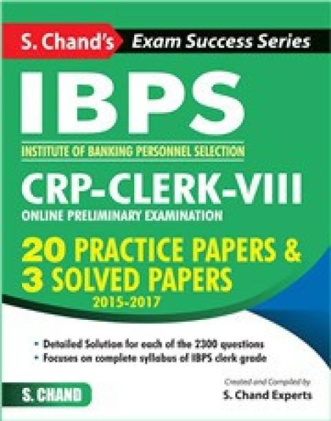 IBPS: CRP-Clerk-VIII Online Preliminary Examination