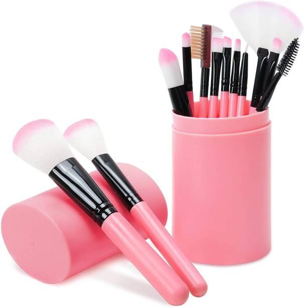 BELLA HARARO Makeup Brush Sets - 12 Pcs Makeup Brushes for Foundation Eyeshadow Eyebrow Eyeliner Blush Powder Concealer Contour