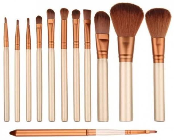 J & F Naked3 Makeup Brush Set