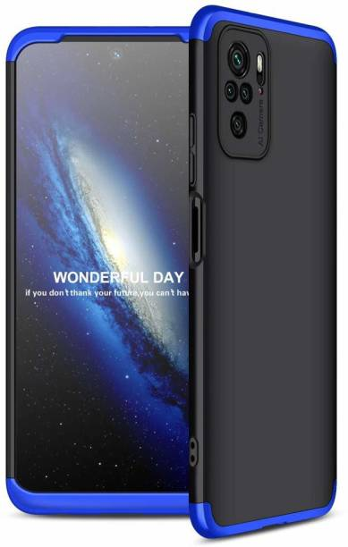 SKIN WORLD Front & Back Case for Redmi Note 10