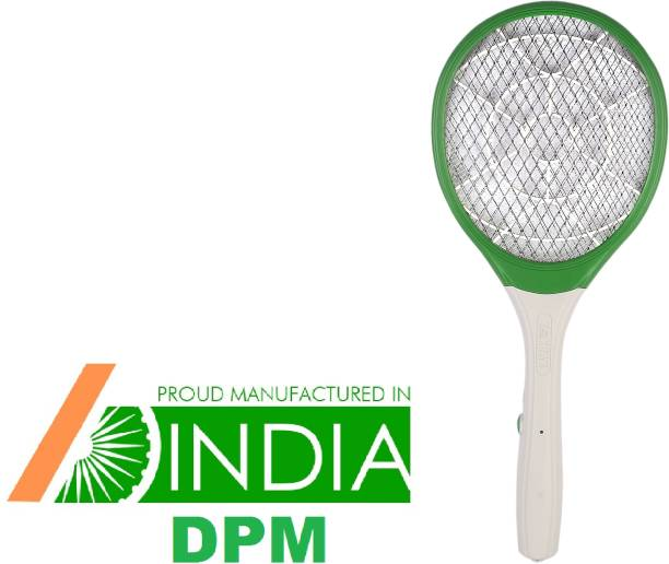 DPM TAK-888 Heavy Duty Mosquito Bat/ Mosquito Racket RECHARGEABLEI MOSQUITO SWATTER NET HIGT CAPACITY BATTERY Electric Insect Killer