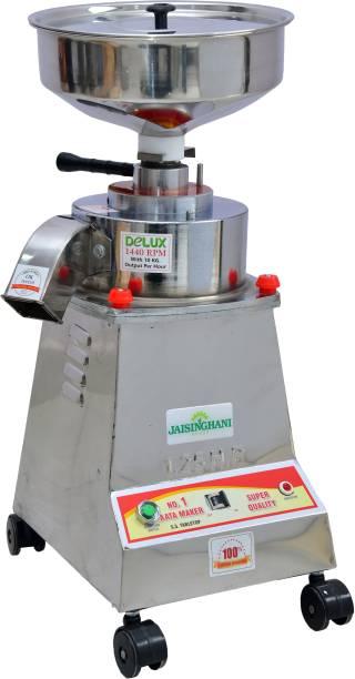 Jaisinghani 1.25 Stainless Steel Stone Flour Mill for Home, Best Atta Chakki for Home 10-12 Kg/hr Output Flourmill