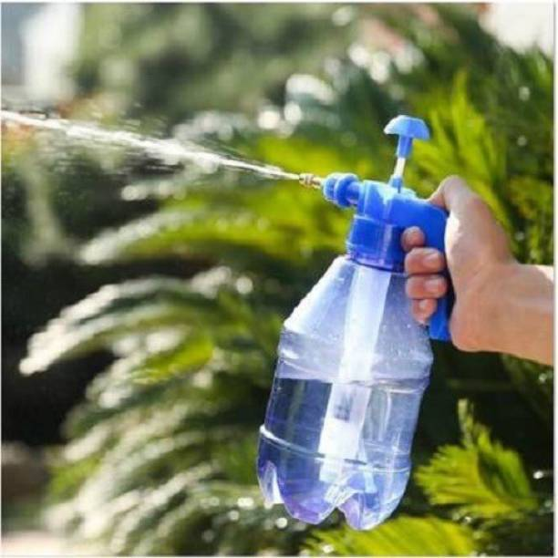 RoofTop High Preasure spray can for Lawn Sprinkler Water Mister Spray Bottle for Herbicides, Pesticides, Fertilizers, Plants Flowers.(Blue) 1.5 L Hand Held Sprayer