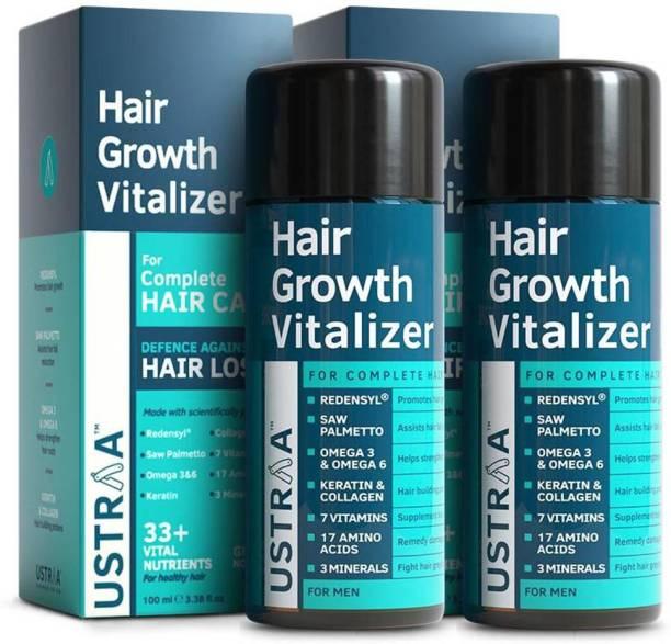USTRAA Hair Growth Vitalizer (Set of 2) - 100ml
