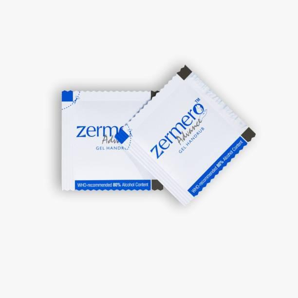 zermero Gel based Hand rub Sachet 2ml Combo Pack of 240 PCS (240PCSX2) Hand Sanitizer Pouch