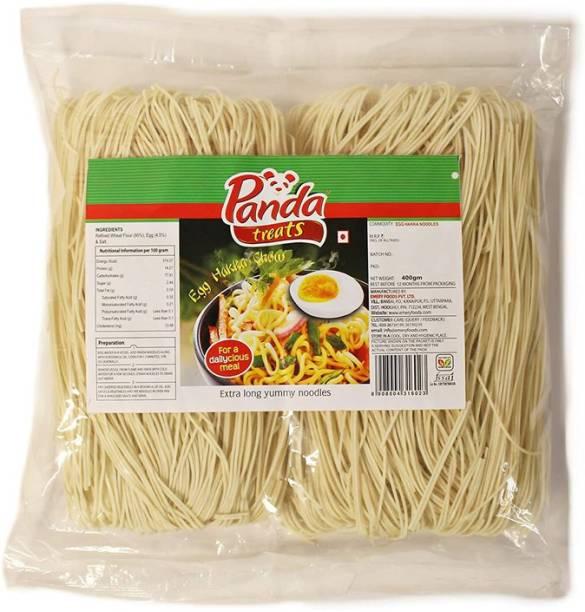 Panda Treats Tasty Egg Hakka Noodles 400g (Pack of 18) Hakka Noodles Non-vegetarian