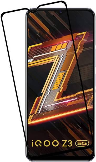 LIKEDESIGN Edge To Edge Tempered Glass for Vivo iQOO Z3, Vivo iQOO Z3 5G