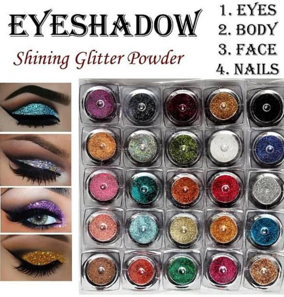 crayon Eye Shadow Glitter Powder Set