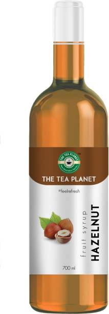 The Tea Planet Hazelnut Syrup To Coffee, Tea, And Specialty Cocktails, Non - GMO, Gluten-Free, Vegan (700 Ml ) Hazelnut