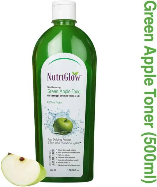 NutriGlow Skin Balancing Green Apple Toner With Vitamin A,C & E Women