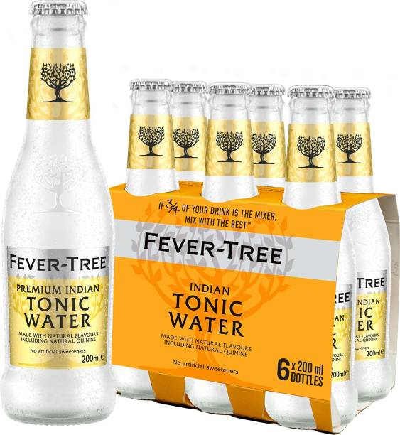 Fever-tree Premium Indian Tonic Water Glass Bottle