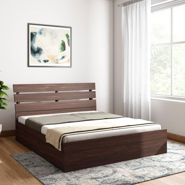 Bharat Lifestyle Havana Engineered Wood Queen Box Bed