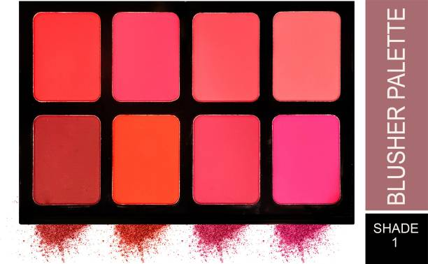 London Girl Ultra Blusher Palette 8 Color (Shade-01)