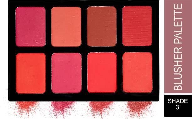 London Girl Ultra Blusher Palette 8 Color (Shade-03)