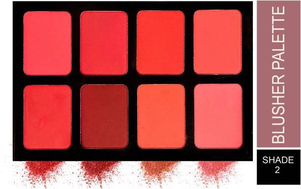 London Girl Ultra Blusher Palette 8 Color (Shade-02)