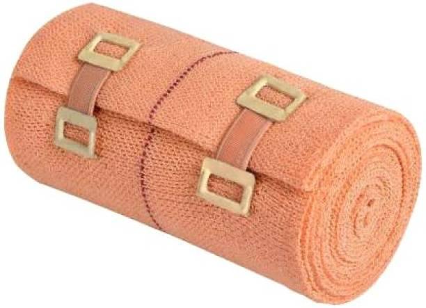 Kadibro 8 CM X 4 M CREPE BANDAGE WITH ELASTIC GRIP Crepe Bandage