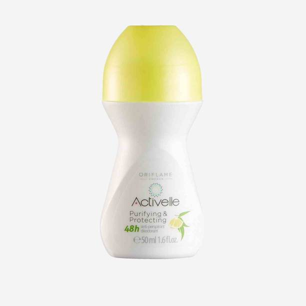 Oriflame Sweden ACTIVELLE Purifying & Protecting Anti-perspirant 48h Deodorant Deodorant Roll-on  -  For Men & Women