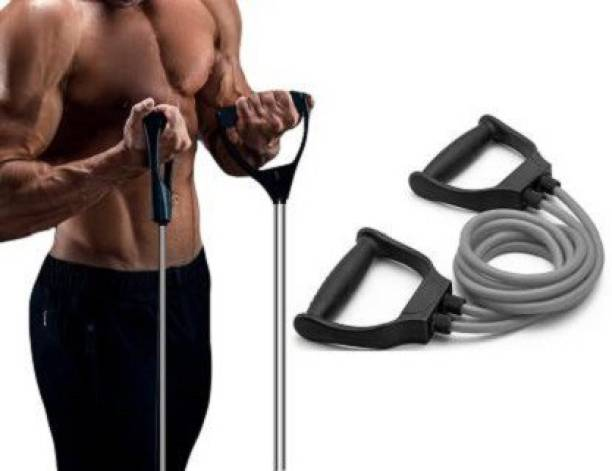 PIRENE PullRope Toning Fitness Resistance Band Tube Double Resistance Band