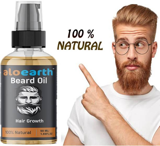 Aloearth 100% Result Beard Hair Oil