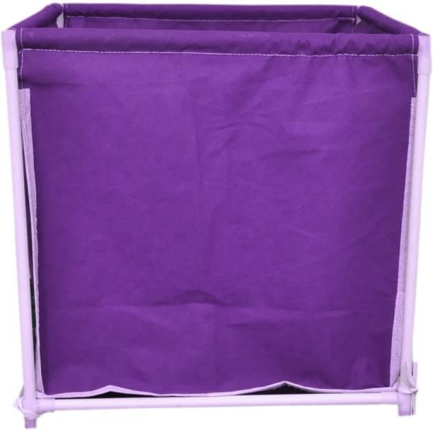 MEZIRE 30 L Purple Laundry Basket