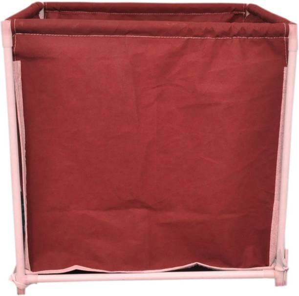 MEZIRE 30 L Red Laundry Basket