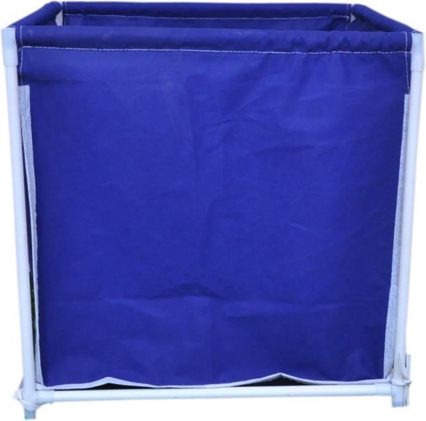 MEZIRE 30 L Blue Laundry Basket