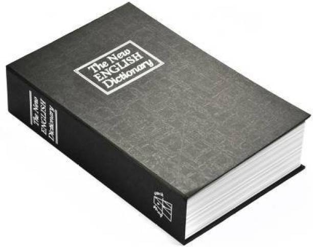 krenz Book Safe Dictionary Book Style Money Cash Locker Jewelry Home Hidden Safe Box Dictionary - multi color Safe Locker