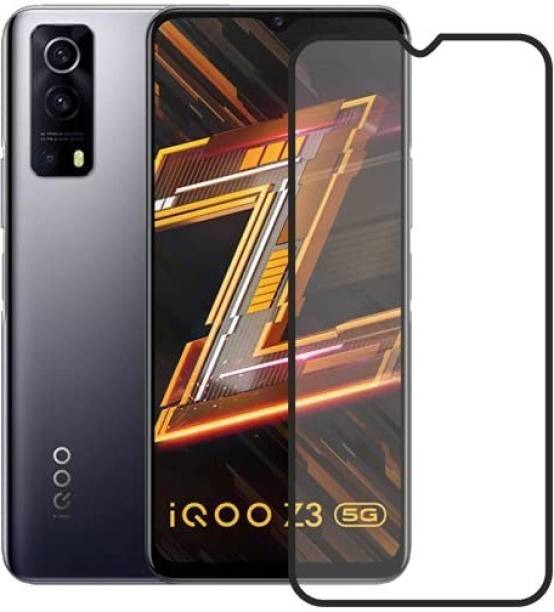 Bodoma Edge To Edge Tempered Glass for Vivo Y72 5G, Vivo iQoo Z3, iQOO Z3 5G
