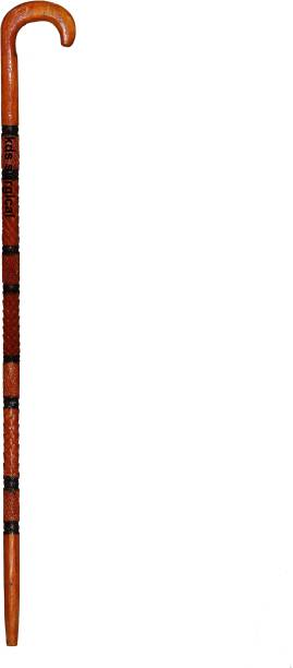 KDS SURGICAL Handemade Wooden Walking Stick Traditional Design For Men/Women/Old People U Shape Handle 004 Walking Stick