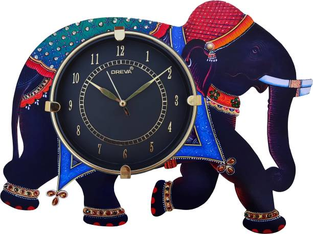 AJANTA Analog 30 cm X 38 cm Wall Clock
