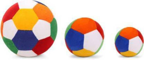 Lil'ted Soft Foot Ball with two medium and small Rattle Ball combo Rattle