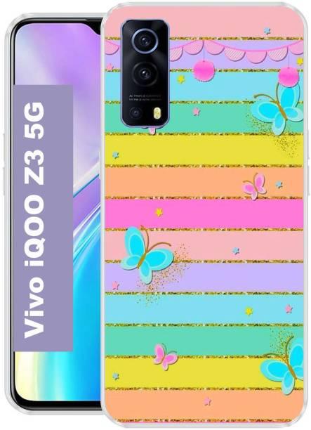 SHIVANTA Back Cover for Vivo iQOO Z3 5G