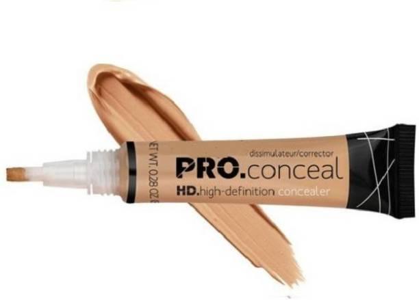 Kamz Beauty HD PRO CONCEAL Concealer (Medium beige CORRECTOR )8g Concealer