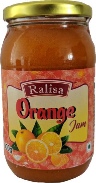 RALISA Premium Orange Jam (45% Fruit), Orange Jam 500g 500 g