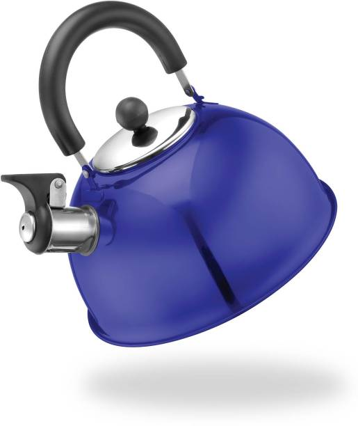 Urban Chef 2 L Kettle Stainless Steel Whistling Kettle/ Tea Pot/ Water Boiling Kettle - 2 LTR (Blue). Dishwasher safe . Rust Free, BPA Free, Fridge safe, Heat resistant handle, Easy to carry, Easy to pour. Pitcher