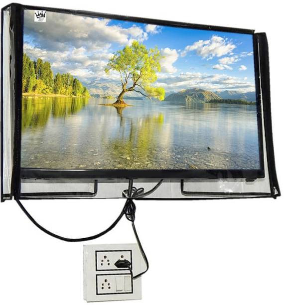 KingMatters transparent water-dustproof cover for 32 inch LED/LCD TV Cover  - KMClearLED32IN