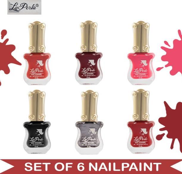 La Perla (LP-NPCMB6-7192) - CH Piano - Multicolor Nail Paint - 10 ml Each Multicolor