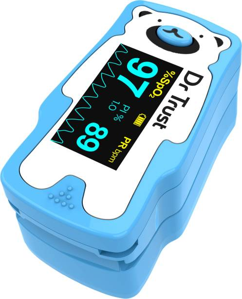Dr Trust Model 212 Paediatric FingerTip Pulse Oxymeter Oxygen Saturation Heart Rate Monitor for kids Sp02 check Pulse Oximeter