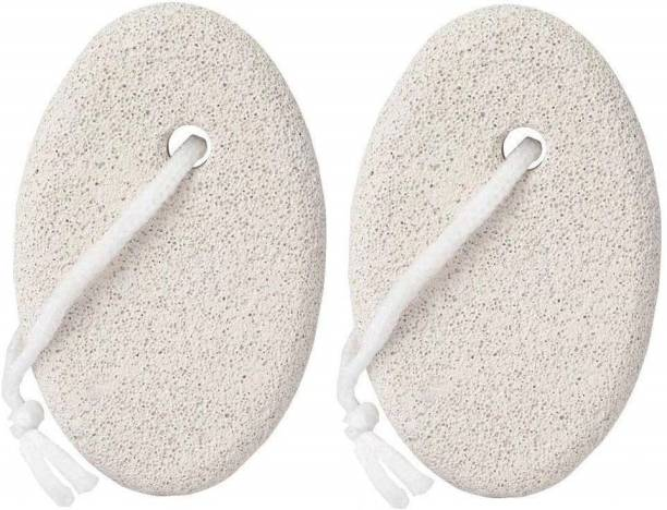 Tiny Deal Pumice Stone 2 Pcs, Natural Lave Pumice Stone for Feet/Hand, Small Callus Remover/Foot Scrubber Stone for Men/Women